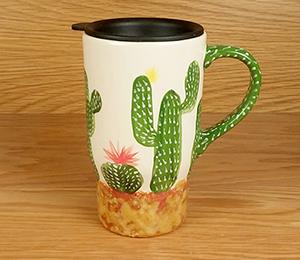 Oxnard Cactus Travel Mug
