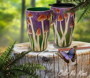 Oxnard Mushroom Mugs