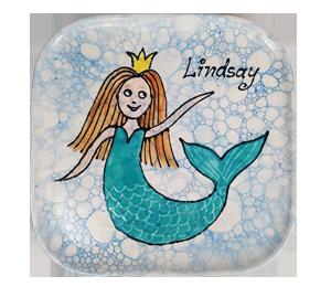 Oxnard Mermaid Plate