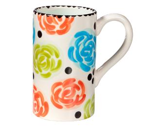 Oxnard Simple Floral Mug