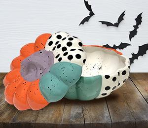 Oxnard Color Block Pumpkin