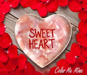 Oxnard Candy Heart Plate