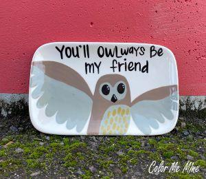 Oxnard Owl Plate