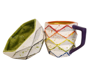 Oxnard Rainbow Prism Mug