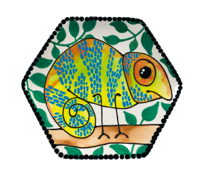 Oxnard Chameleon Plate