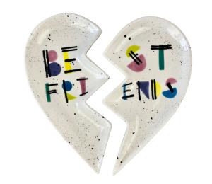 Oxnard Best Friends Plate Set