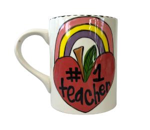 Oxnard Rainbow Apple Mug