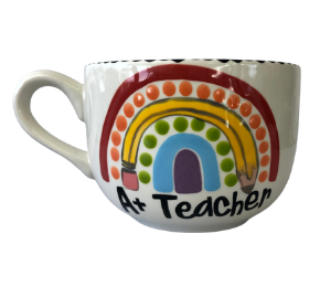 Oxnard Polka Dot Rainbow Mug